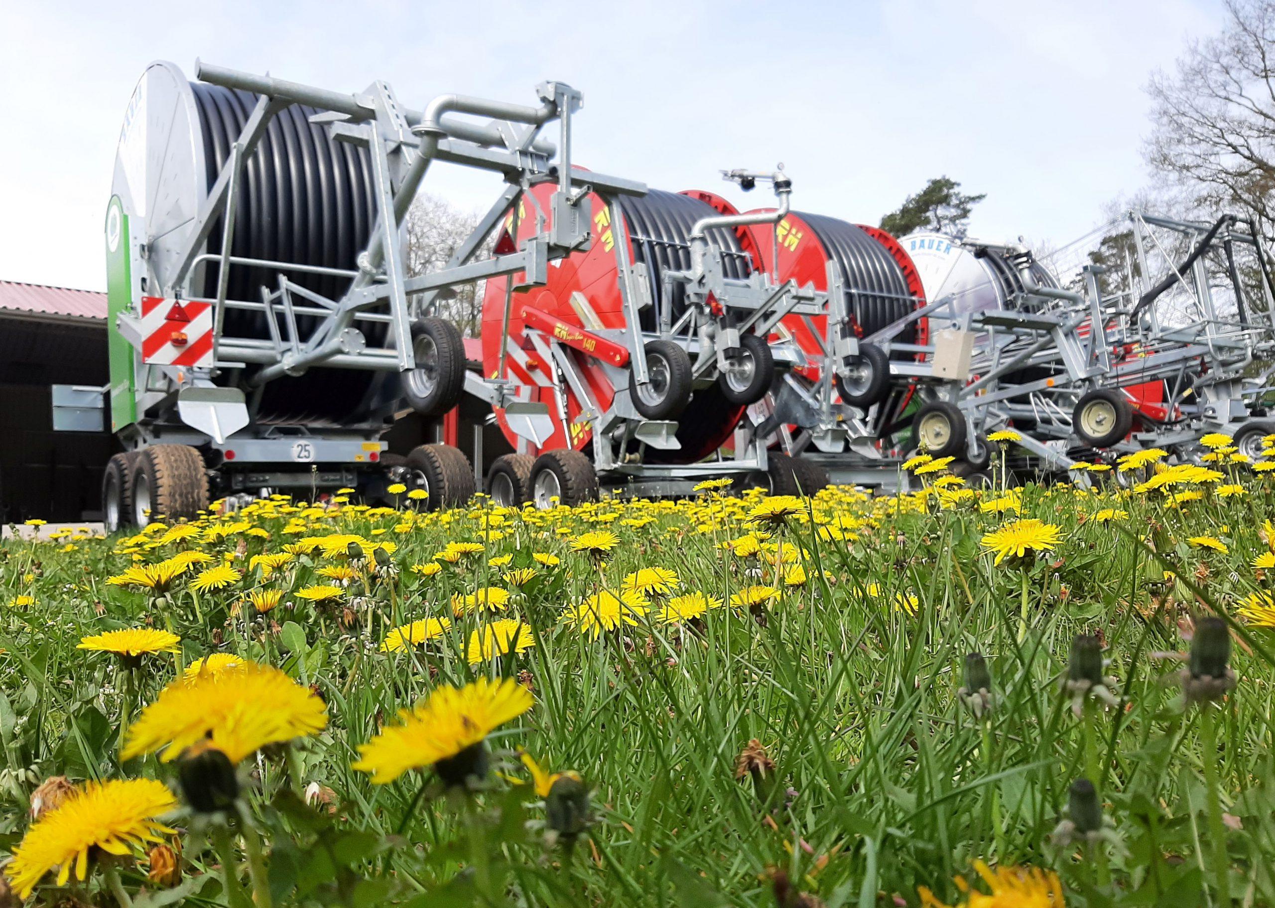 Bauer Rainstar Regenmaschine und RM Italy Regenmaschinen